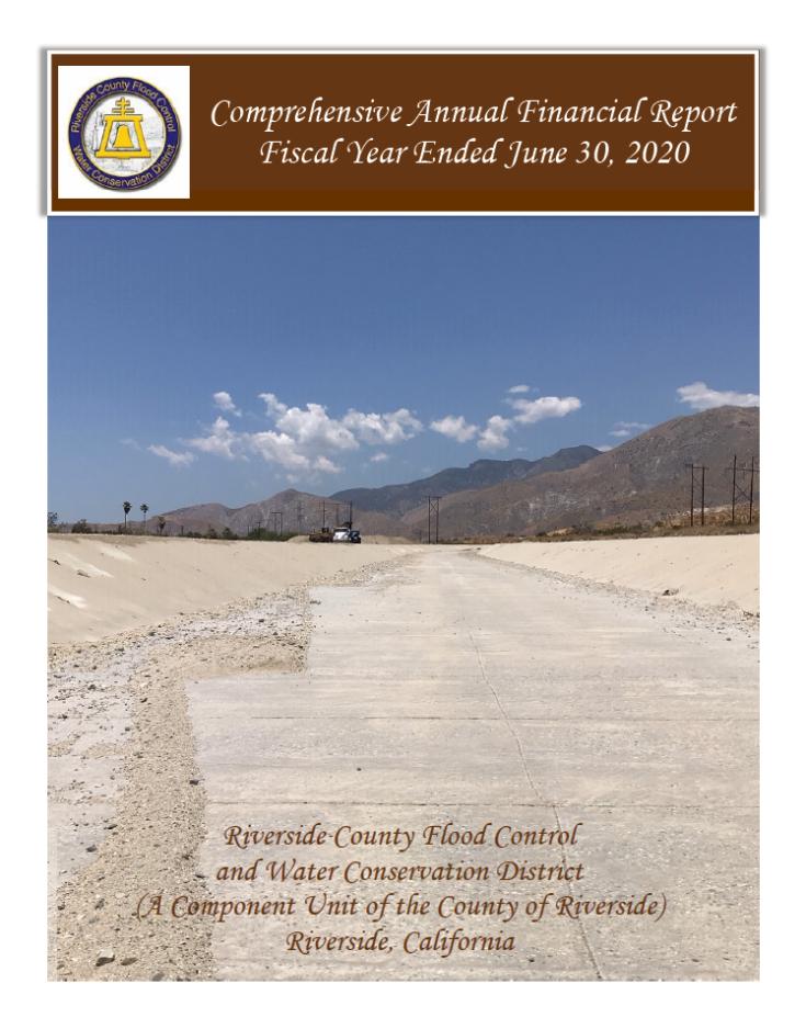 2020 Comprehensive Annual Report